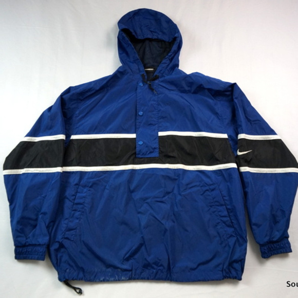 91f9473c7b VTG 90s NIke Windbreaker Jacket Men s XL Blue. M 5a6d0c8f84b5ce7cd010ea0a